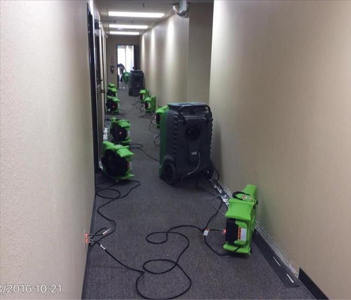 Water damage on a three day weekend?  No problem for the crew at SERVPRO of Camarillo!