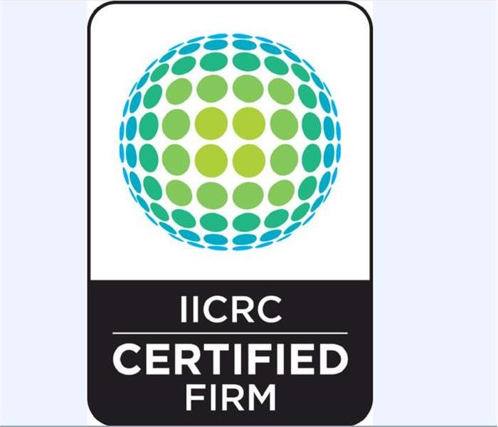 General SERVPRO of Camarillo is an IICRC Certified Firm